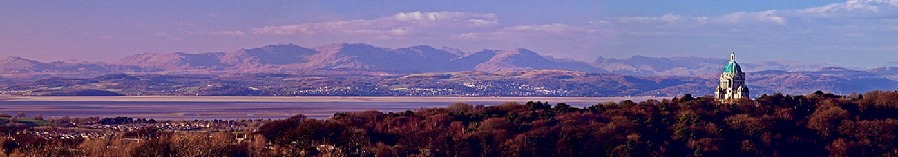View across Morecambe Bay