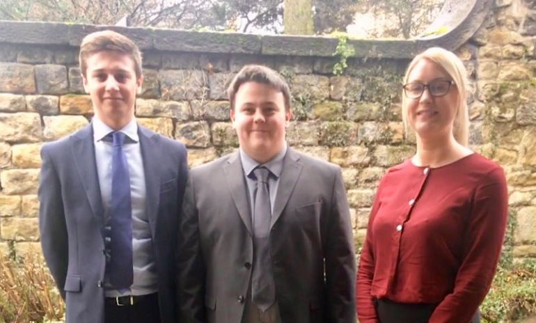 Scott & Wilkinson Welcome Three New Trainee Accountants.