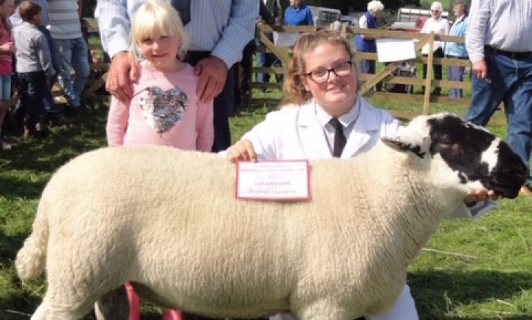 Sheep Show Raises Funds For Stroke Unit at RLI.